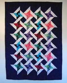 Friendship Star Batik Quilt