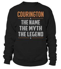 COURINGTON - The Name - The Myth - The Legend #Courington