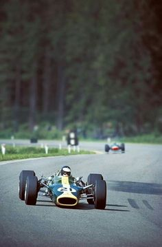 Jim Clark at Spa