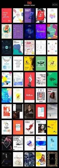 110 in 1 Branding Templates Bundle on Behance