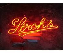 Vintage Neon Beer Signs New Strohs Beer Sign 70S Via Etsy  Stroh's Beer  Pinterest
