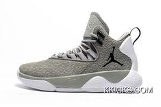 new styles 127ab 889ca Nike Jordan Super.Fly MVP Cement Grey White-Black Mens Basketball Shoes  Discount
