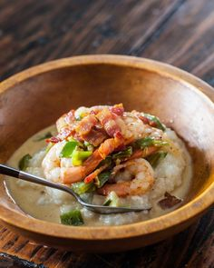 Shrimp and Grits / Steamy Kitchen
