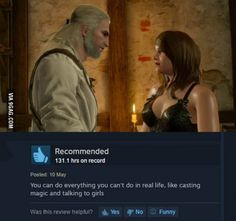 Honest Comment - Witcher 3 Reviews (Steam)