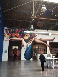 #expomisterfreeze 2017 #toulouse #streetart #streetartist #graff #graffitiart#graffitiartist   Love DOUDOU STREET ART