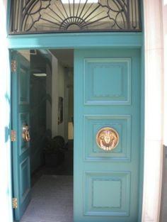 Tiffany Blue Doors