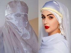 Hasina with & without burqa