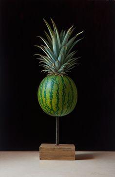 Scott Fraser | OIL | Pineapple Imposter