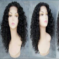 Beautiful  Curly Doll Lacefront Wig  20-22 inches! Heat Resistant Synthetic Hair,  Medium cap Accessories Hair Accessories