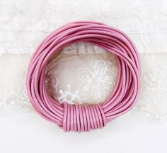 Pnik Genuine Round Leather Cord 2mm Greek High Quality by vess65