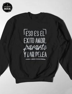 Buzo La Beriso - Comprar en La tienda del Rock quiero una!!! Bukowski, Breyer Horses, Hip Hop, Lyrics, Graphic Sweatshirt, Sweatshirts, Disney, Books, Design