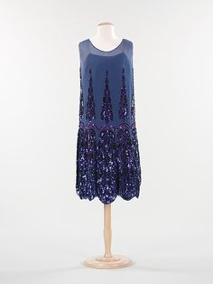 evening dress, 1925, MET