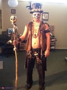 Voodoo Baron Samedi and Madame Brigitte Costume - Photo 2/10