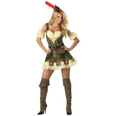 Sexy Racy Robin Hood Adult Halloween Costume #halloween #costume