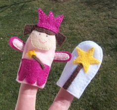 Finger Puppet Toy Magic Wand