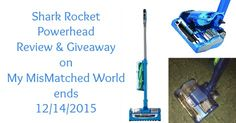Check out my review for the Shark Rocket Powerhead. An amazing tool for your home! I absolutely LOVE it! Enter to win a Shark Rocket Powerhouse! #giveaway #ad #review #hgg #shark