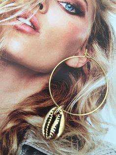 Hoop Earrings, Gold, Jewelry, Bijoux, Jewlery, Jewels, Jewelery, Jewerly, Fine Jewelry