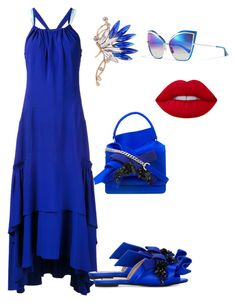 """""""Untitled #358"""" by stylistrr on Polyvore featuring Peter Pilotto, Dita and N°21"""