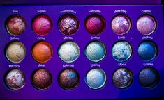 Not a massive fan of marbled products but this is pretty dreamy || BH Cosmetics Galaxy Chic Palette