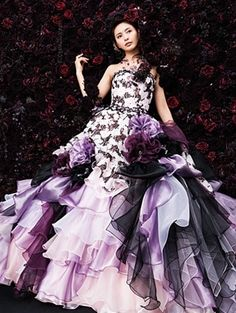 29 best Purple Wedding Dresses images on Pinterest | Bridal gowns ...