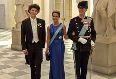 Newmyroyals: Crown Prince Frederik's 50th Birthday Celebrations, Banquet, May 26, 2018 (b. May 26, 1968)-Prince Nikolai, Princess Marie and Prince Joachim