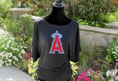 Los Angeles Angels of Anaheim Rhinestone by SewMuchFunByStacy, $27.00