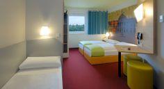 Familienzimmer für 3 Personen im B&B Hotel Wiesbaden