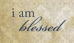 Lord, thank you for what seems to be an endless supply of blessings. I am so very grateful for each and every one of them.  HF~