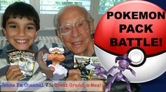 #VIDEO: #Pokemon Legendary Treasures Booster Pack Battle with Great Grandpa!  WATCH: https://youtu.be/9MrBQ1ISK1Q