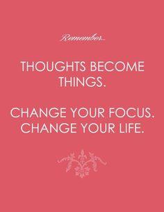 How we spiral down into negativity: change your mindset. Change your life. via La Dolce Vita