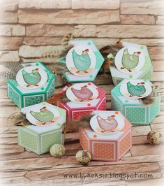 Stampin Up, Holiday Decor, Boxes, Crafts, Packaging, Easter Activities, Cards, Deco, Boxing