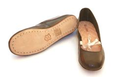Darcey ladies ballet leather tie flat shoe, natural veg tanned leathers. Flats, Sandals, Summer Shoes, Loafers, Ballet, Tie, Natural, My Style, Clothing