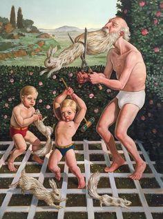 Erik Thor Sandberg's Surreal, Painted Narratives | Hi-Fructose Magazine