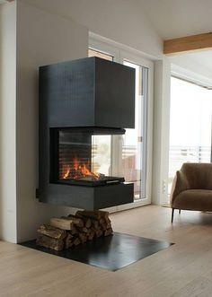 fireplace, Heizkamin