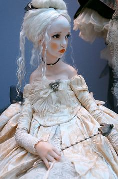 Doll Art by Alisa Filippova Clay Dolls, Blythe Dolls, Doll Toys, Dolls Dolls, Pretty Dolls, Beautiful Dolls, Pinterest Arte, Mode Lolita, Enchanted Doll