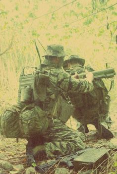 Recon Teams in Vietnam | RECON TEAM ON PATROL