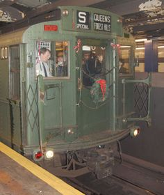 Experience an Old-Time NYC Commute on a Vintage Subway Train