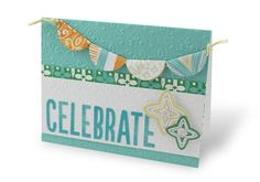 Mediterranean Market Celebrate Card Project Idea
