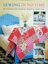 Sewing in No Time: 50 Step-by-step Weekend Projects Made Easy by Emma Hardy, (It's recommended for people who like my favorite sewing book. Check out from library? Easy Sewing Patterns, Easy Sewing Projects, Sewing Crafts, Sewing Ideas, Sewing Tips, Knitting Projects, Sewing Tutorials, Weekend Projects, Fun Projects
