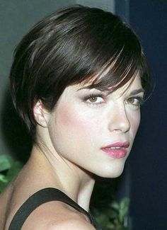 11.Short Hairstyle for Fine Straight Hair