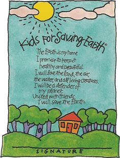 earth day poems for kids | Kids for Saving Earth