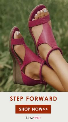 Ankle Boots Outfit Summer, Black Ankle Boots, Trendy Sandals, Low Wedge Sandals, Knit Shoes, Women's Shoes, Prom Heels, Wedge Flip Flops, Open Toe Shoes