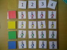 Matrix ridders: kleur en aantal *liestr*
