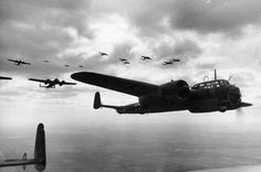 A formation of German Dornier Do 17Z light bombers, flying over France on June 21, 1940