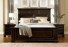 With sophisticated Old World styling and a sense of grandeur, Castella Francesco Panel Bedroom Set by Universal Furniture is sure to add warmth and welcome to the most luxurious homes. King Bedroom Sets, Queen Bedroom, Bedroom Furniture Sets, Bed Furniture, Furniture Design, Master Bedrooms, Dream Bedroom, Kitchen Furniture, Master Suite