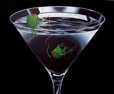 Martini - Titled: Gone Fishing