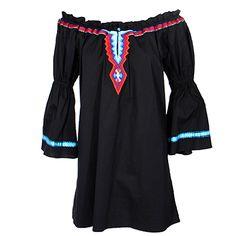 Vintage Collection Aztec Tunic Dress at Maverick Western Wear