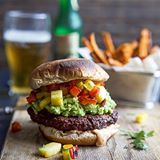 BURGER TIME... Smoky Smashed Avocado Burger with Pineapple Pepper Relish. This burger is like nothing you've ever tasted. It definitely deserves a spot in your #memorialday lineup! . . Click linkinprofile for Recipe☝️️ . . #buzzfeast #beautifulcuisines #CookCL #eatingfortheinsta #eeeeeats #eattheworld #greatist #gloobyfood #foodie #feedfeed #f52grams #foodandwine #foodblogeats #foodisfuel #healthyrecipes #huffposttaste #MarthaFood #mybhg #savuermag #spoonfeed #thenewhealthy #TodayFood…