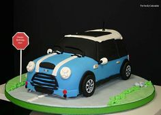 A Cooper cake or mini cake even though it's probably not that mini