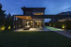 greek practise | Woodwing Villa in Ekali, Athens, Greecec by k-studio & VOIS Architects